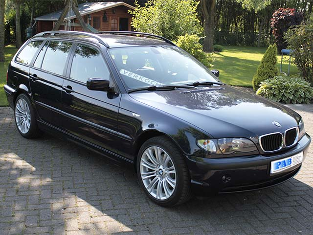 BMW 320D TOURING AUT. verkocht